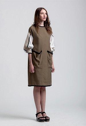 Геометричные платья и прозрачные сумки Ksenia Gerts. Изображение № 3.