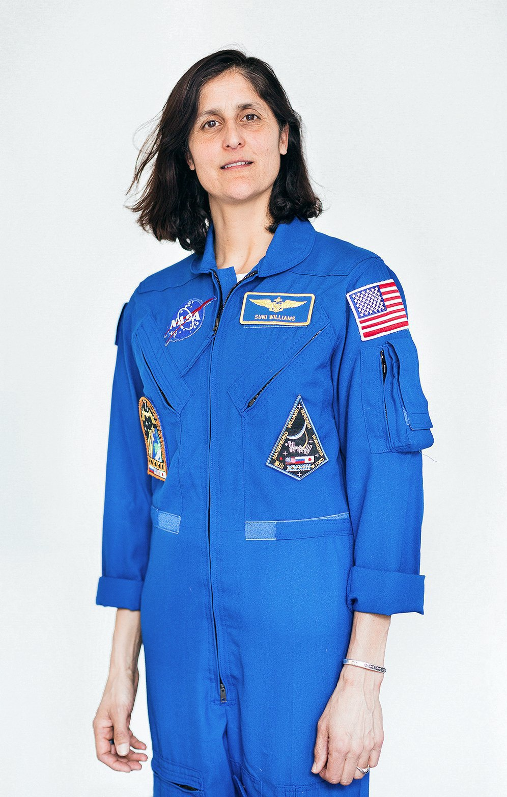 Астронавт NASA Сунита Уильямс  о человечности в космосе. Изображение № 2.