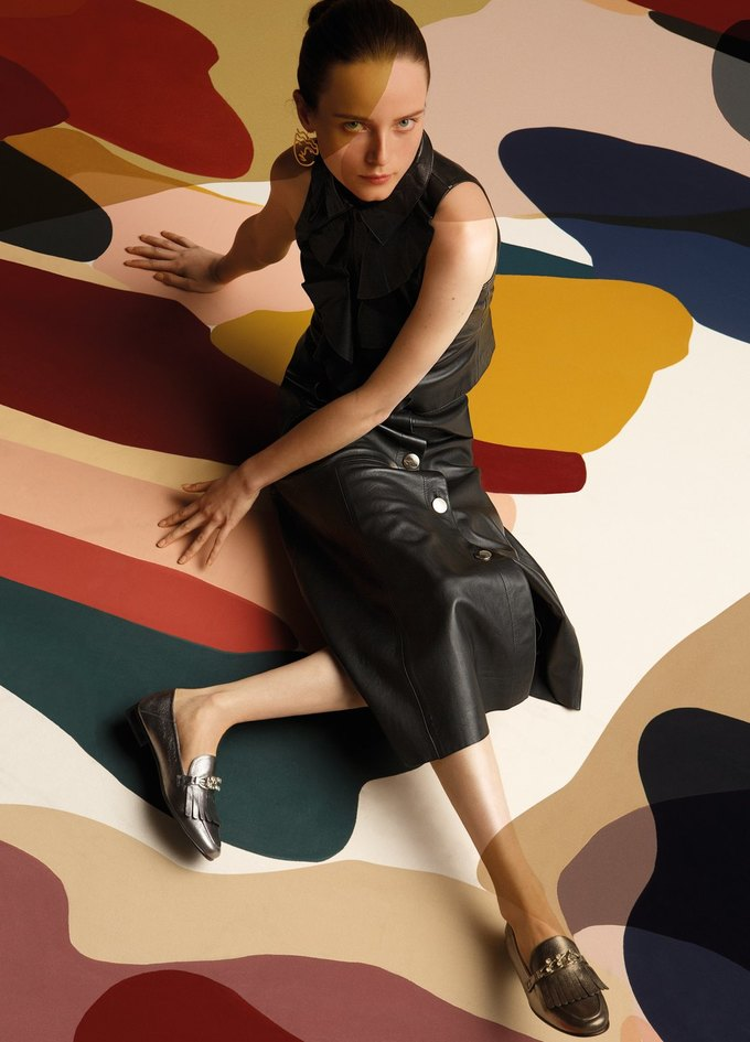 Полотна художницы Клаудии Валселс в новом лукбуке Uterqüe. Изображение № 4.
