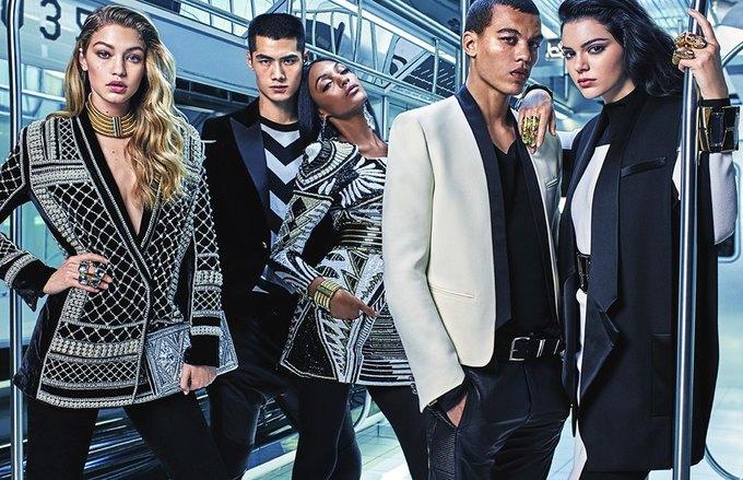 Balmain и H&M показали совместную коллекцию. Изображение № 4.