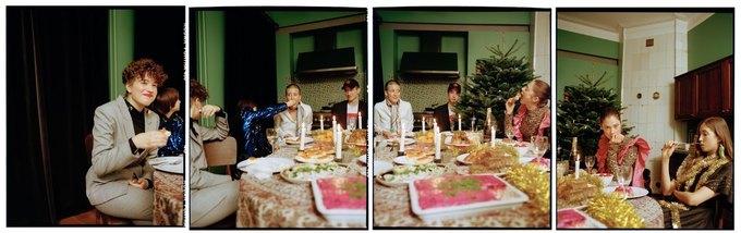 «Секция» показала новогодний лукбук  о праздничном застолье . Изображение № 12.