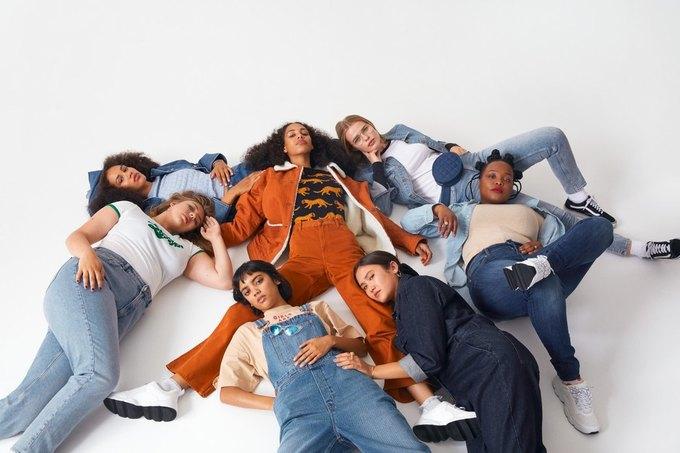 Люби деним: Monki показали новый джинсовый лукбук . Изображение № 1.