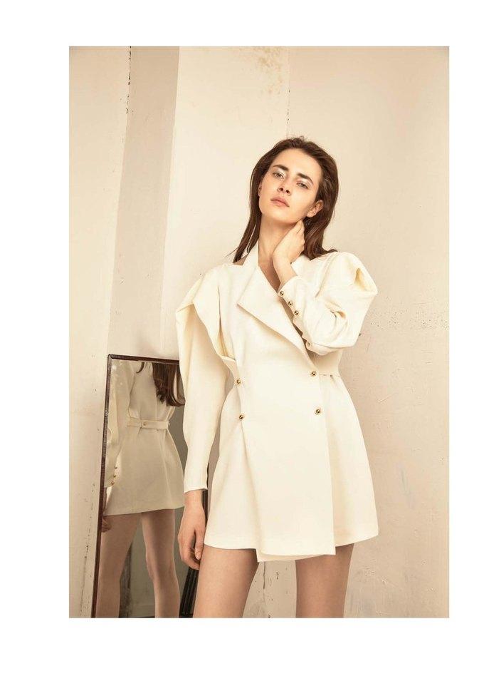 Новая коллекция Sergey Soroka вдохновлена мужским гардеробом. Изображение № 29.