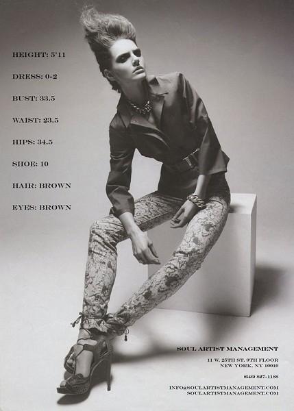 Композитки пяти модельных агентств к Нью-Йоркской неделе моды. Изображение № 7.