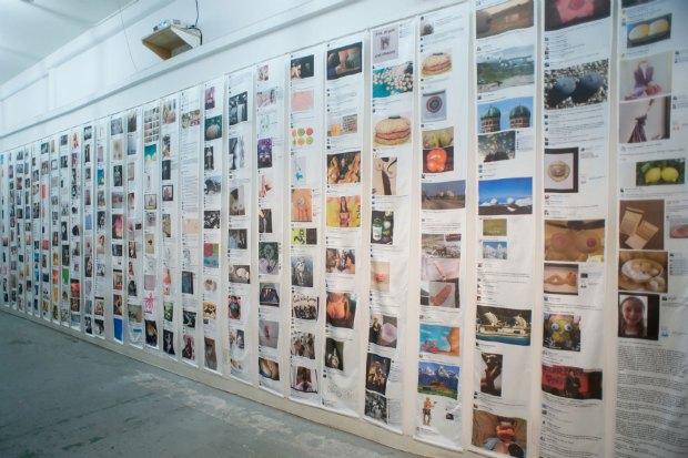 Копия стены Беттины Хабби на фейсбуке. Изображение № 1.