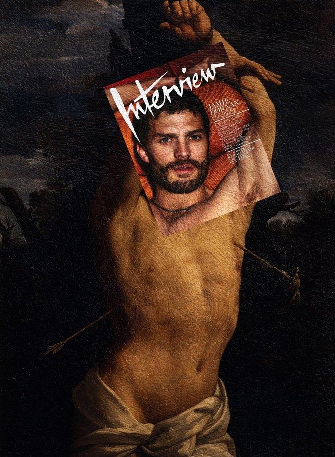 Mag + Art: Коллажи из глянца и живописи. Изображение № 2.
