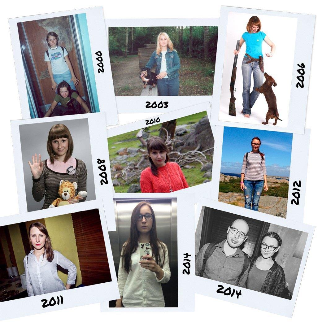 Доска позора:  Как менялся  наш стиль с 16 лет. Изображение № 8.