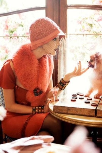 Съёмка во французском Vogue. Изображение № 54.