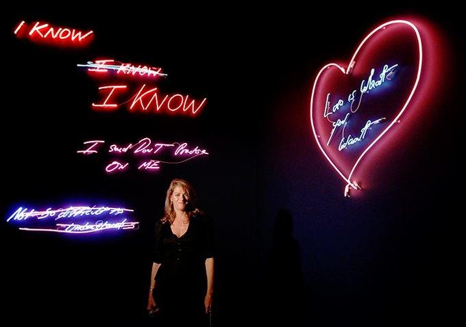 Трэйси Эмин и световые инсталляции. Изображение № 2.