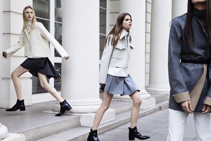 Модели на улицах Лондона в новой кампании Zara. Изображение № 1.