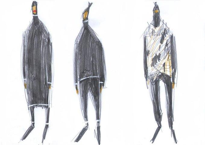 Nina Donis показали мудборд и эскизы новой коллекции. Изображение № 5.