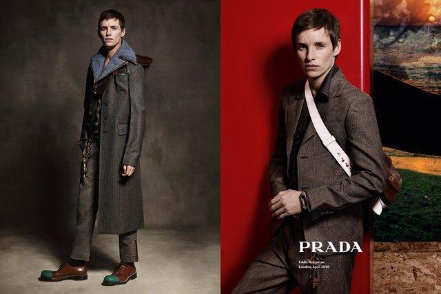Эдди Редмэйн стал новым лицом Prada. Изображение № 2.