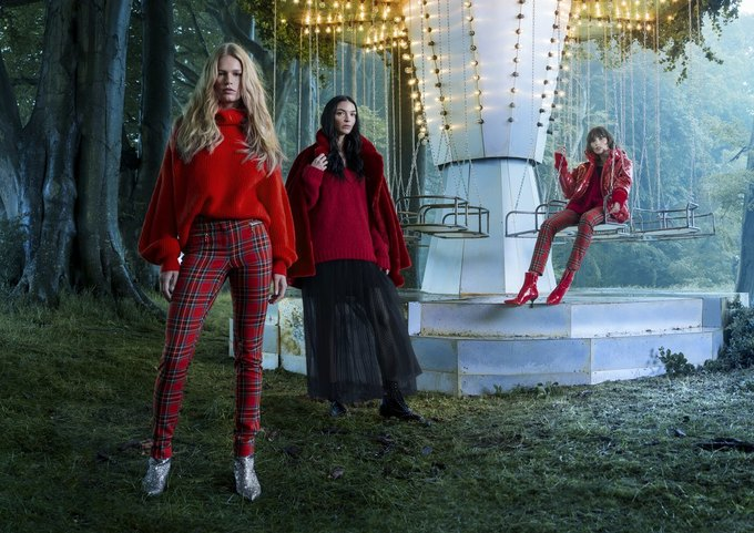 Ники Минаж снялась  в рождественской кампании H&M. Изображение № 2.
