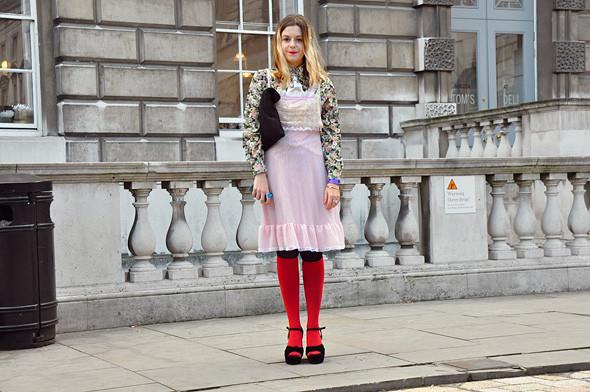 London Fashion Week: Уличный стиль, часть 3. Изображение № 22.