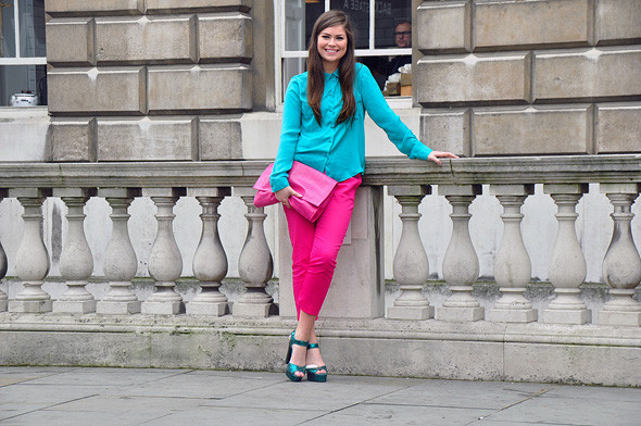 London Fashion Week: Уличный стиль, часть 3. Изображение № 27.