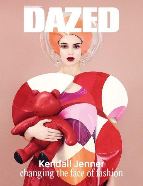 Кендалл Дженнер «меняет лицо моды» на обложке Dazed & Confused. Изображение № 1.