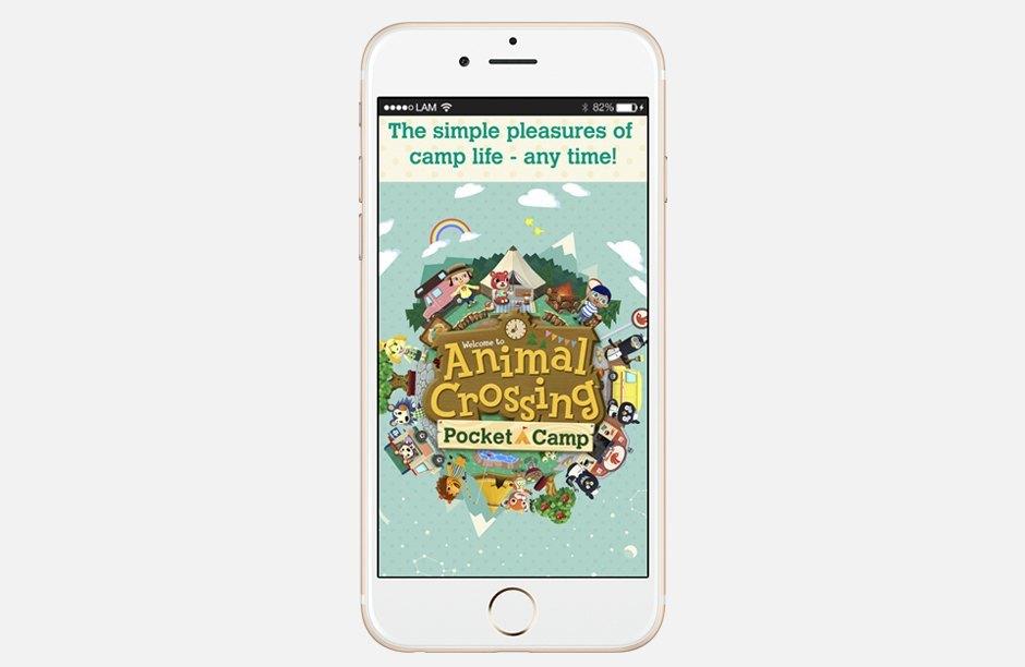 Симулятор деревни животных Animal Crossing: Pocket Camp. Изображение № 1.