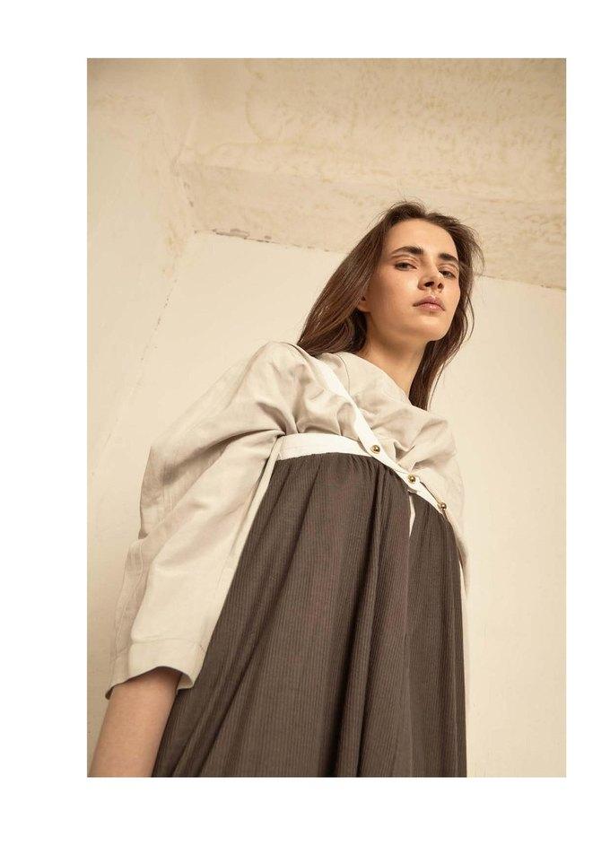 Новая коллекция Sergey Soroka вдохновлена мужским гардеробом. Изображение № 10.