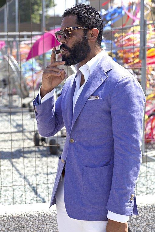 Стритстайл: Красивые мужчины на Pitti Uomo. Изображение № 5.