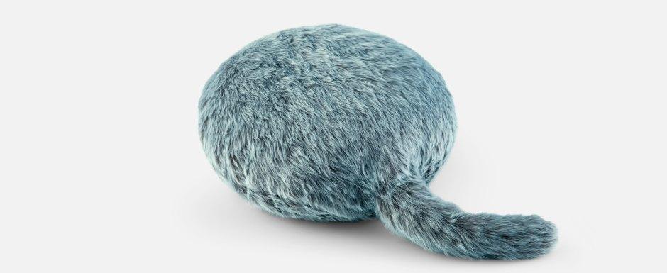 Подушка Qoobo, которая виляет хвостом. Изображение № 1.
