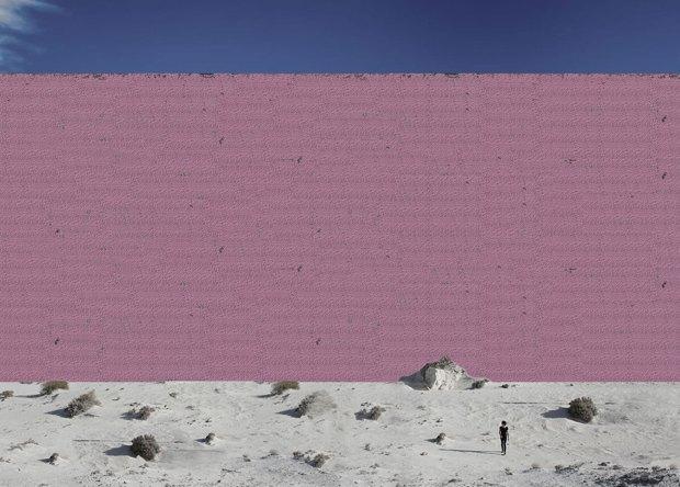 Мексиканская студия визуализировала «Стену Трампа» . Изображение № 6.