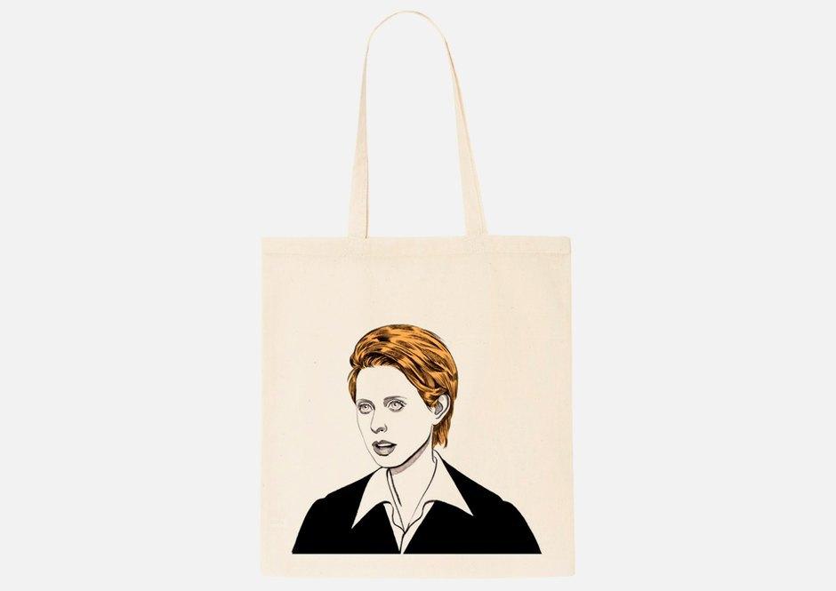 Холщовая сумка с Мирандой в строгом костюме. Изображение № 1.