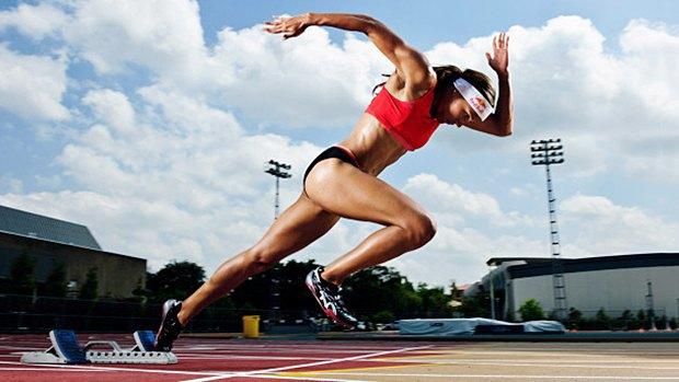 Легкоатлетка Лоло Джонс в рекламной кампании Red Bull «Kluge». Изображение № 1.