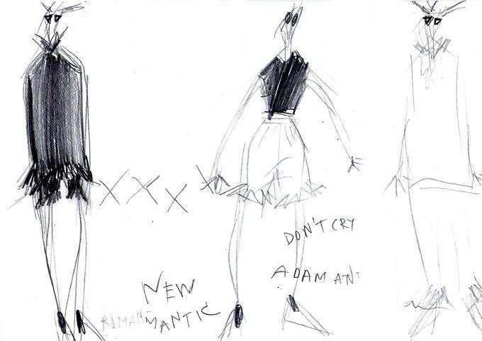 Эскизы к коллекции Nina Donis SS15. Изображение № 2.