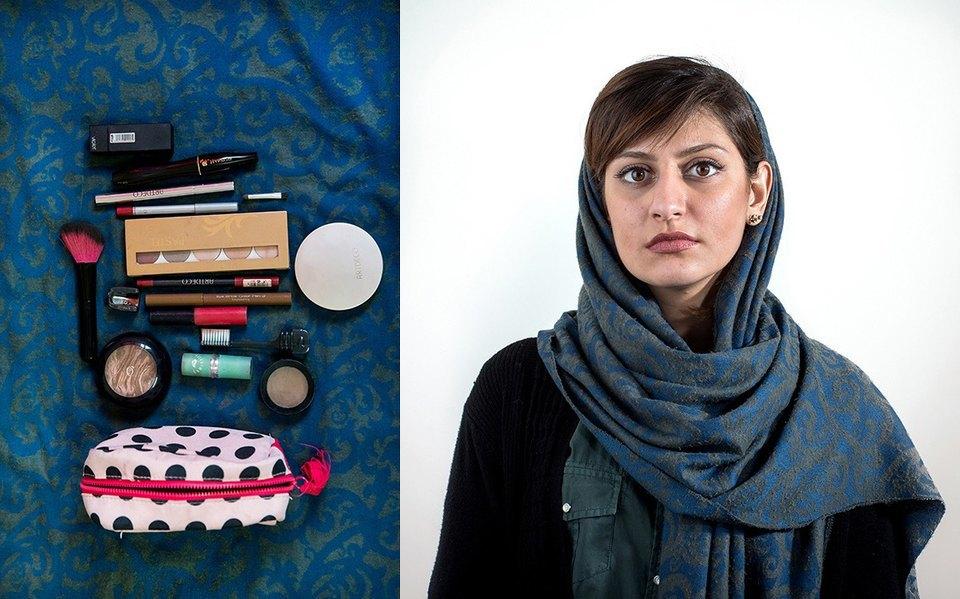 «Иранский макияж»:  Как и чем красятся  восточные женщины. Изображение № 9.