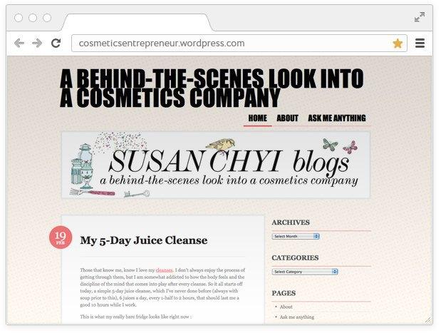 Из первых рук: Личные блоги  разработчиков косметики. Изображение № 5.