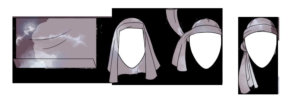 7 способов повязать платок  на голову. Изображение № 12.