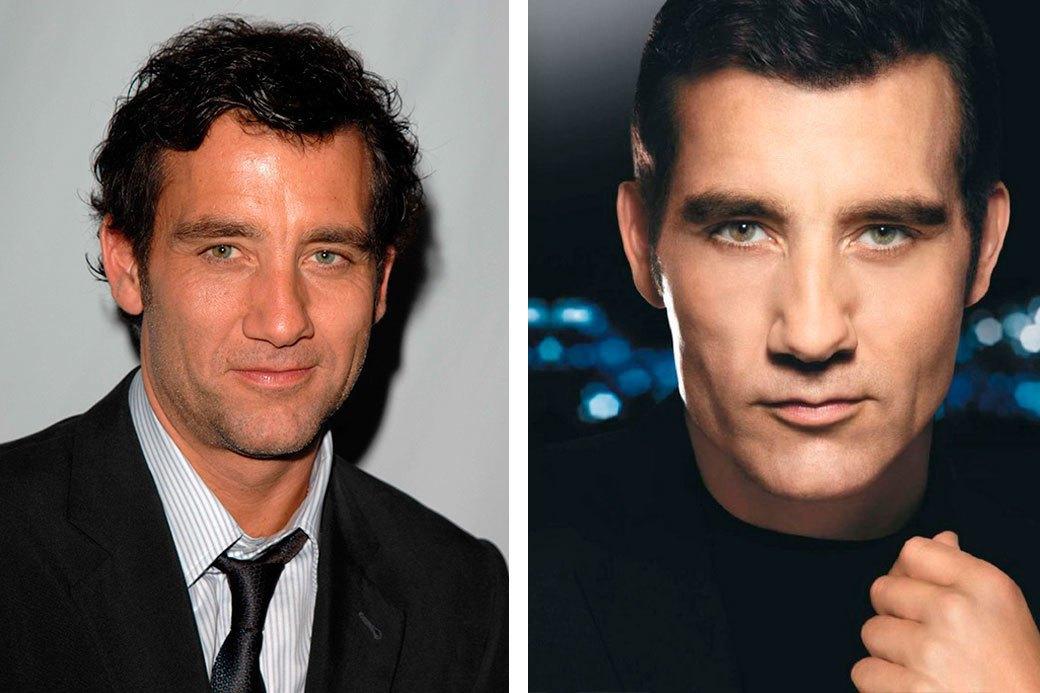Нереально красивые: Знаменитые мужчины  до и после фотошопа. Изображение № 6.