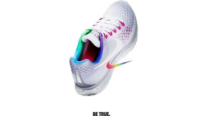 Nike и Converse представили коллекции  в поддержку ЛГБТ. Изображение № 7.