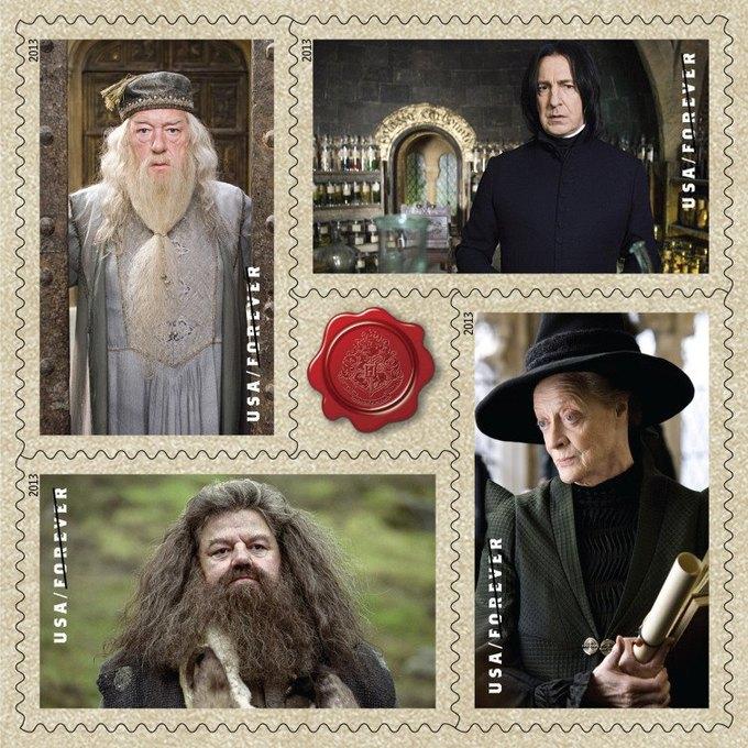 Марки с Гарри Поттером возмутили американских филателистов. Изображение № 2.