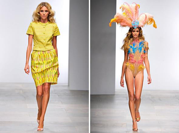 Показы на London Fashion Week SS 2012: День 2. Изображение № 12.