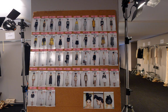 Milan Fashion Week: Репортаж с бэкстейджей Max Mara и Moschino. Изображение № 28.