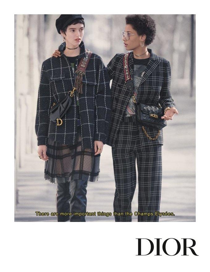 Dior показал кампанию в духе фильмов французской новой волны. Изображение № 6.