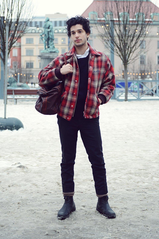 Шубы и горох на Stockholm Fashion Week. Изображение № 51.