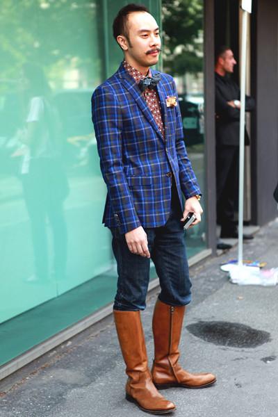 Milan Fashion Week: Уличный стиль, день 3. Изображение № 11.