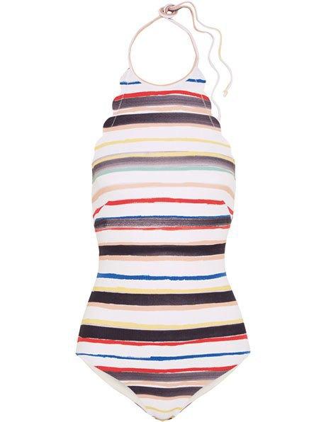Что носить летом:  10 лаконичных слитных купальников . Изображение № 9.