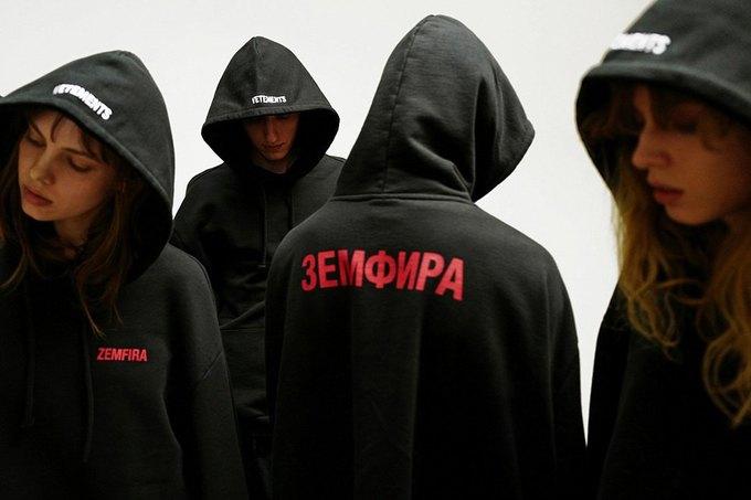Vetements выпустили толстовку «Земфира»  за 62 000 рублей. Изображение № 2.