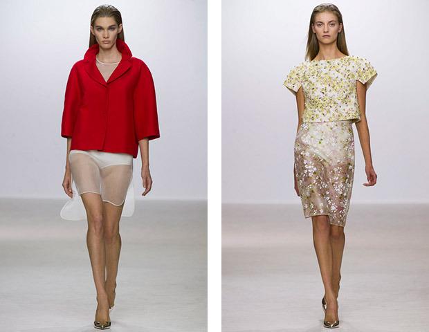 Парижская неделя моды: Показы Stella McCartney, Chloe, Saint Laurent, Giambattista Valli. Изображение № 14.