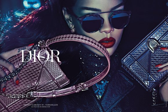 Dior показали рекламную кампанию с участием Рианны. Изображение № 1.