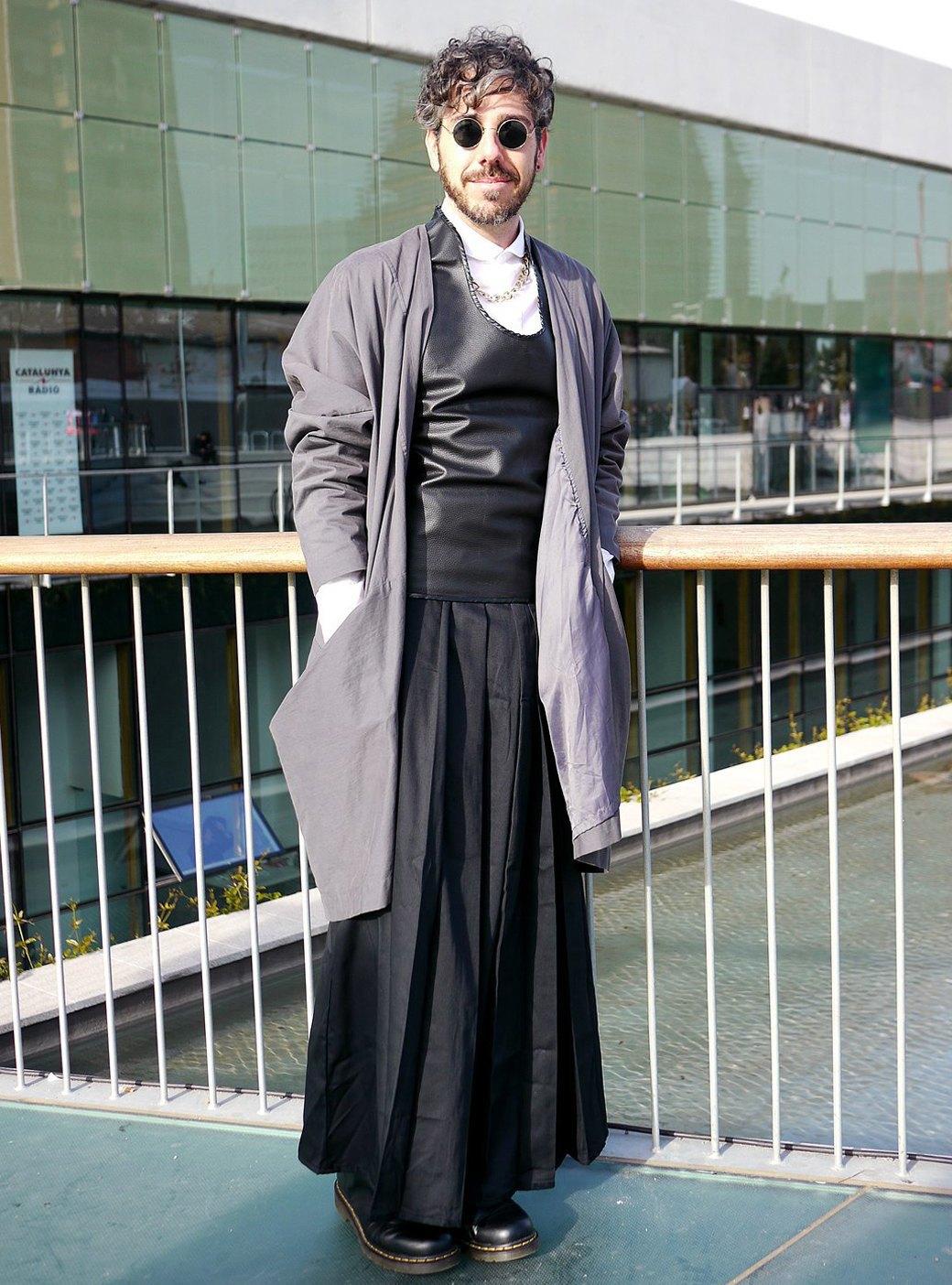 Гости Недели моды в Барселоне. Изображение № 47.