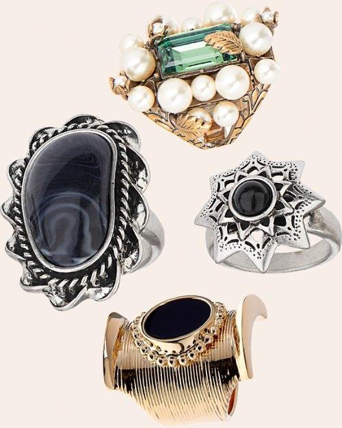 Барочные перстни, чокеры и не только: Какие украшения носить этой зимой. Изображение № 6.