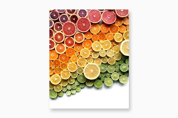 Принты с градиентами из еды. Изображение № 2.