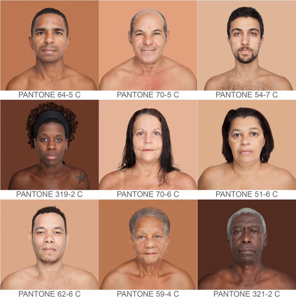 Всемирный каталог  оттенков кожи Humanæ. Изображение № 5.