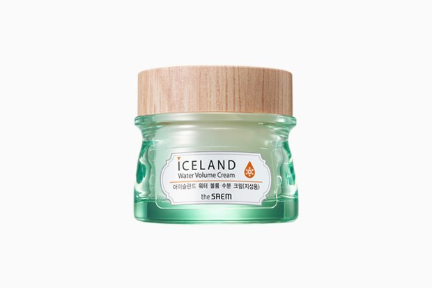 Минеральный крем с ледниковой водой The Saem Iceland Hydrating Water Volume Cream. Изображение № 3.
