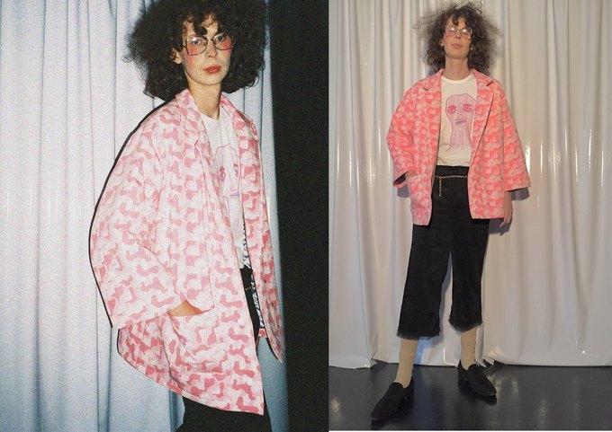 Металлик и питон в новом лукбуке LOH apparel. Изображение № 6.
