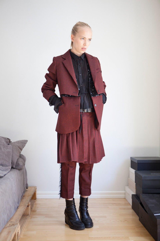 Анна Песонен, младший редактор моды финского журнала SSAW. Изображение № 24.
